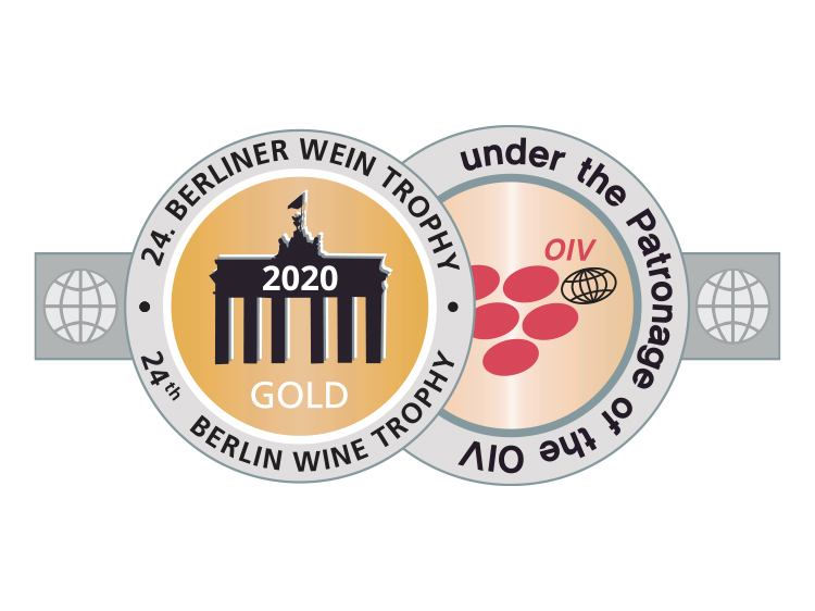 Berliner wine trophy - gold
